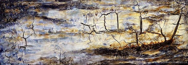 © Adele Woolsey - Fossil Wood