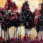 © Adele Woolsey - Tree Line Study 1