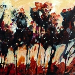 © Adele Woolsey - Tree Line Study 3
