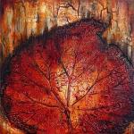 © Adele Woolsey - Corrugated Leaf